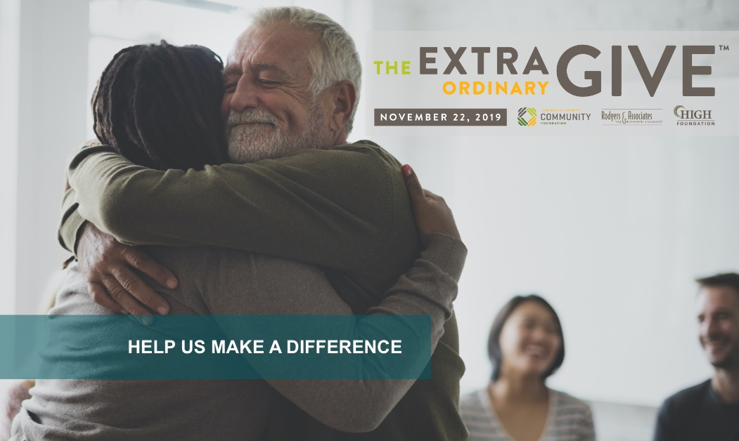 Help Us Transform and Encourage Lives of Recovery by Participating in the Extraordinary Give